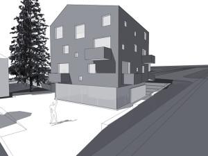 Immeuble mixte PCL